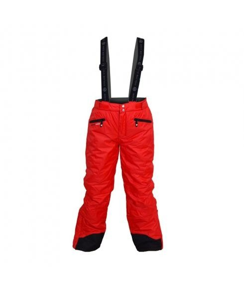 Pas cher Pantalon Ski Color Kids Wassy Rouge Enfants