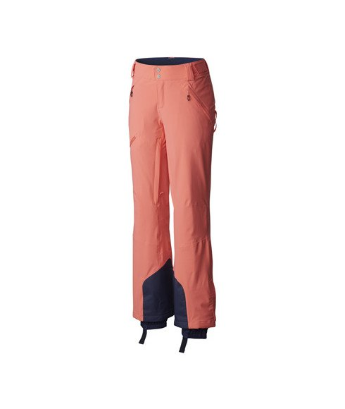 Pas cher Pantalon Ski Columbia Zip Down™ Orange Femmes