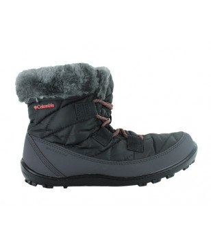 Columbia Winterstiefel Minx Shorty Omni-Heat Waterproof Schwarz Kinder