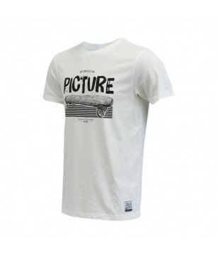 T-Shirt Picture Organic Peaks Blanc Hommes