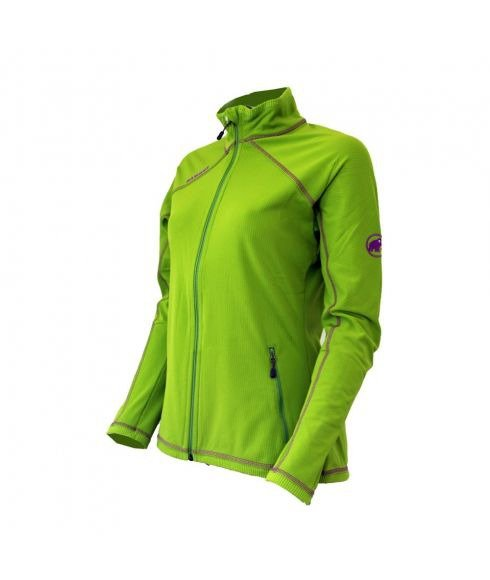 MAMMUT FREERIDE JACKET WOMEN - PERIDOT