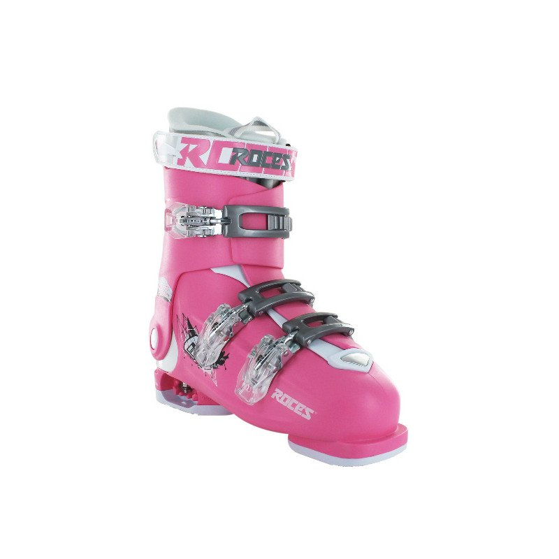 chaussures ski piste roces idea free rose enfants pas cher. Black Bedroom Furniture Sets. Home Design Ideas