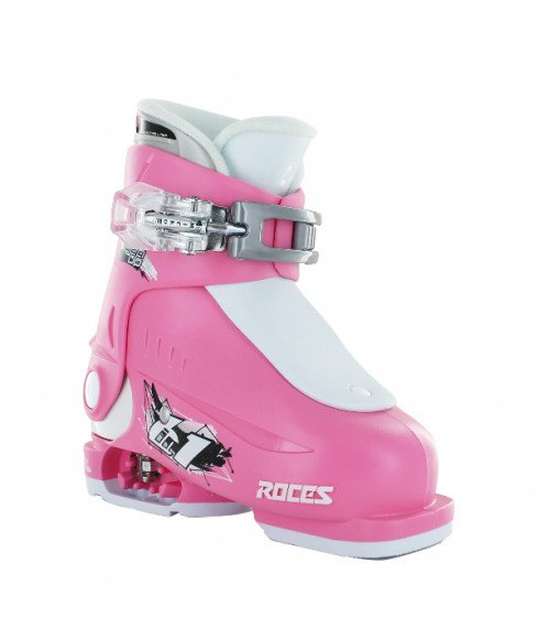 Roces Pistenskischuhe Idea Up 1 Rosa Kinder