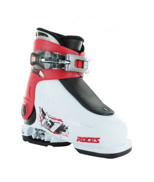 Roces Pistenskischuhe Idea Up 1 Red Weiss Kinder