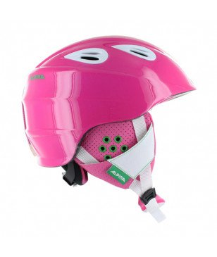 Alpina Skihelm GRAP 2.0 JR Rosa Kinder