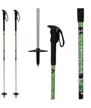 Bâtons Ski All Mountain Movement Black Line Vert Mixtes