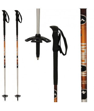 Bâtons Ski Touring Performance Orange Mixtes