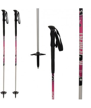 Bâtons Ski Touring Performance Rose Mixtes