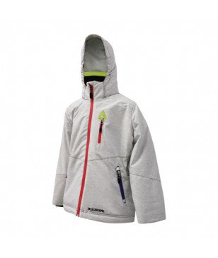 Veste ski Outdoor Gear Youth Quirky Tech Blanc Filles
