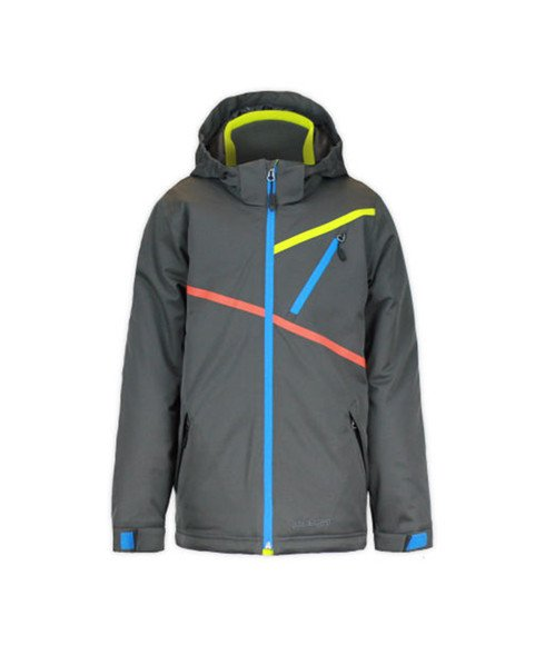 Outdoor Gear Skijacke Youth Momentum Tech Grau Jungen