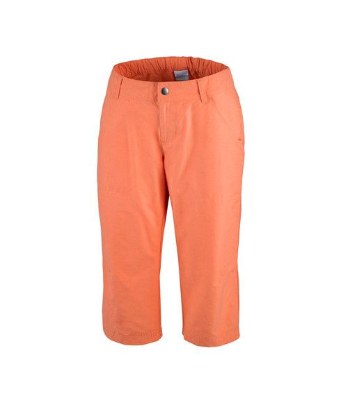 Pas cher Pantalon 3/4 Columbia Arch Cape Capri Orange Femmes
