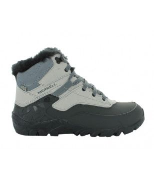 Pas cher Chaussures Marche Hiver Merrell Aurora 6 Ice WTPF Gris Femmes