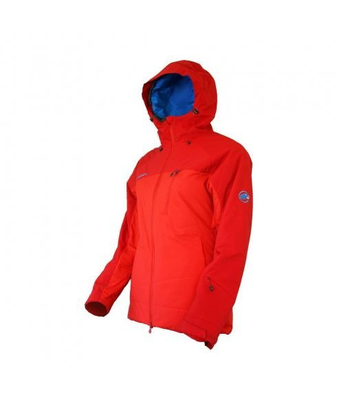 MAMMUT BELALP JACKET WOMEN - POPPY INFERNO