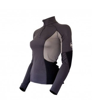 Mammut Zip Pull All Year LS Women Graphite