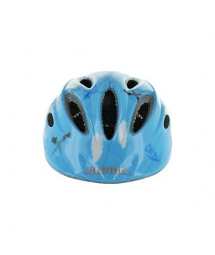Alpina Radhelme GAMMA 2.0 Flash Blau Pirate Kinder