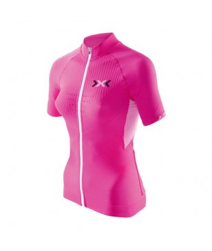 X-Bionic Fahrrad-T-Shirt The Trick Pink Damen