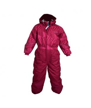Pas cher Combinaison Ski Color Kids Wallis Rose Enfants