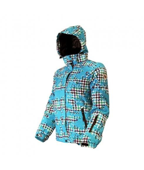 American Project Jacket Adult Women Julia Turquoise