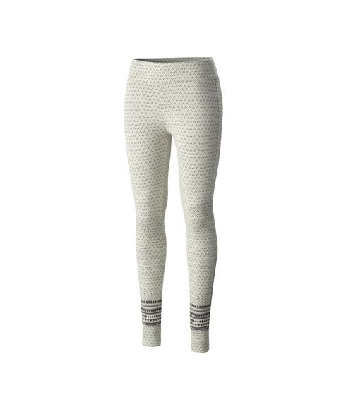 Columbia Leggings Hood Mountain Lodge Jacquard Weiss Damen