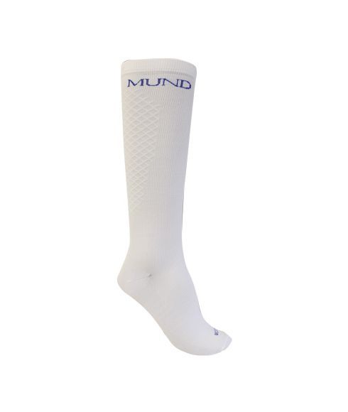Pas cher Chaussettes Compression Mund Recovery Blanc Mixtes