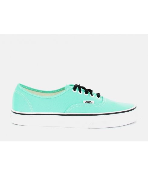 Chaussures Loisirs Vans Authentic Biscay Green Bleu Mixtes