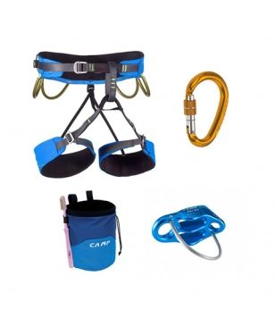 Set de Grimpe Camp Energy Pack Bleu Mixtes