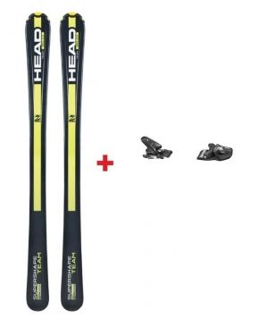 Skis Piste Head Supershape Team avec Fixations Noir