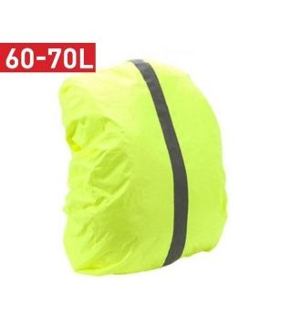 Raincover Sac-à-dos Summit HI-VIS Waterproof 60-70L Jaune Mixtes