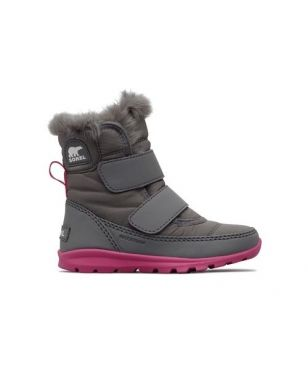 Sorel Winterstiefel Childrens Withney Strap Rosa Kinder