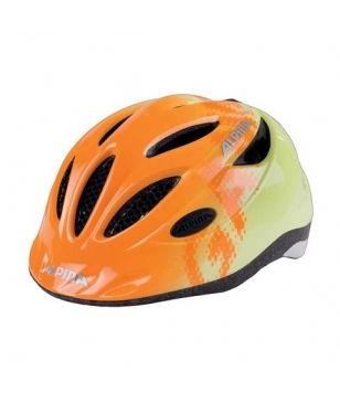 Alpina Velohelm Gamma 2.0 Yellow Orange Kinder