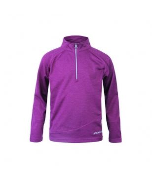 Pull Manches Longues Boulder Gear Ruby Micro 1/4 Zip Violet Magenta Filles