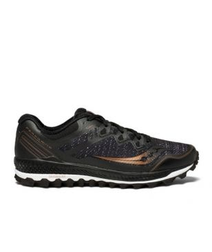 Chaussures Running Saucony Peregrine 8 Copper Noir Hommes