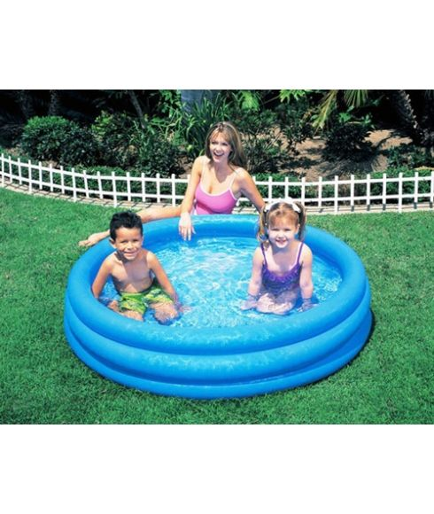 Piscine Gonflable Intex Ø 168 x 38 cm Bleu Enfants