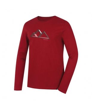 T-Shirt Manches Longues Hannah Skill Rouge Hommes