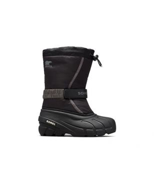 Sorel Winterstiefel Youth Flurry DTV Schwarz Kinder