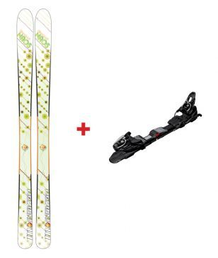 Movement Freeride Ski Noas Mit Bindungen Weiss Unisex