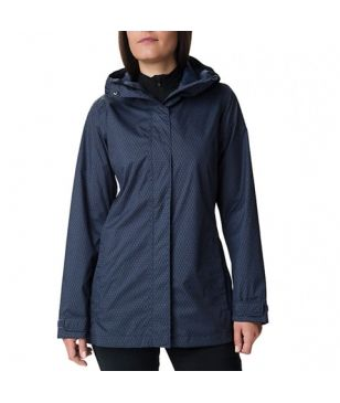 Columbia Regenjacke Splash A Little II Blau Damen
