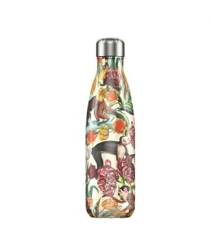 Chilly's Isotherm Trinkflasche Tropical Monkey 0.5L Gelb Unisex