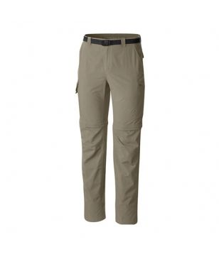 Pantalon Trekking Convertible Columbia Battle Ridge II Beige Hommes