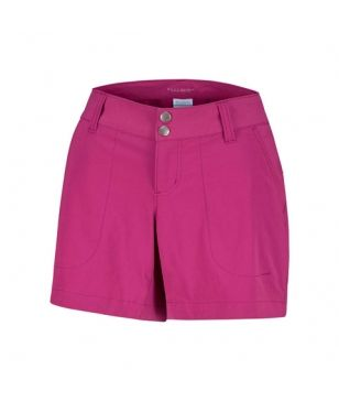 Columbia Trekking Short Saturday Trail Bordeaux Damen