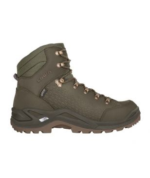 Chaussures Marche Lowa Renegade Gtx Mid SP Vert Mixtes