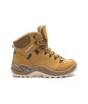 Chaussures Marche Lowa Renegade Gtx Mid SP WS Brun Mixtes