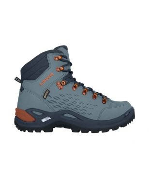 Chaussures Marche Lowa Renegade Gtx Mid WS 20 Bleu Mixtes