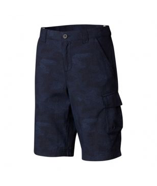 Columbia Trekking Short Silver Ridge Blau Kinder