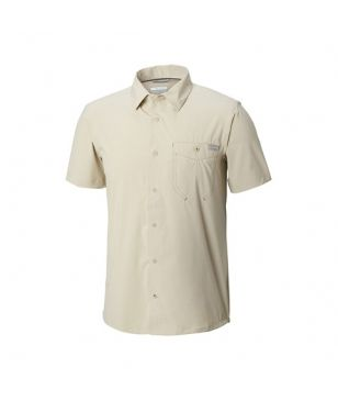 Chemise Columbia Triple Canyon Solid Blanc Hommes