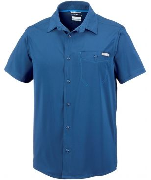 Chemise Columbia Triple Canyon Solid Bleu Hommes