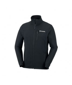 Columbia Softshell Jacke Heather Canyon Schwarz Herren
