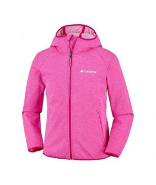 Columbia Softshell Jacke Heather Canyon Rot Kinder