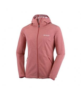 Veste Softshell Columbia Heather Canyon Rouge Femmes