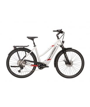 Corratec E-Bike E-Power Sport 28 CX6 12S Trapez Grau Unisex